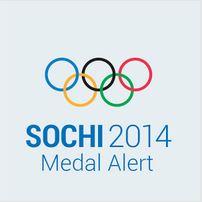 Sochi 2014 Medal Alert