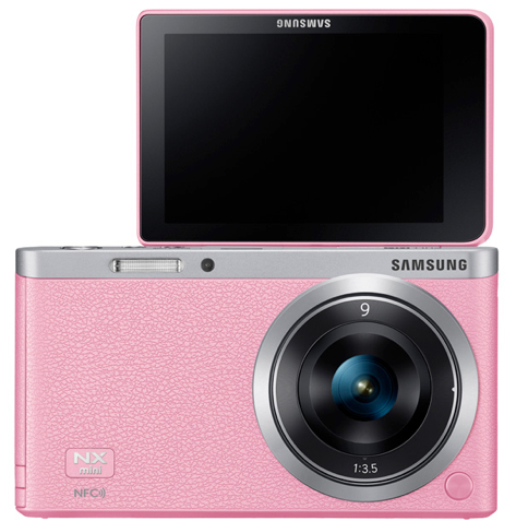 pink NX Mini @WefieNX Best camera for Selfies