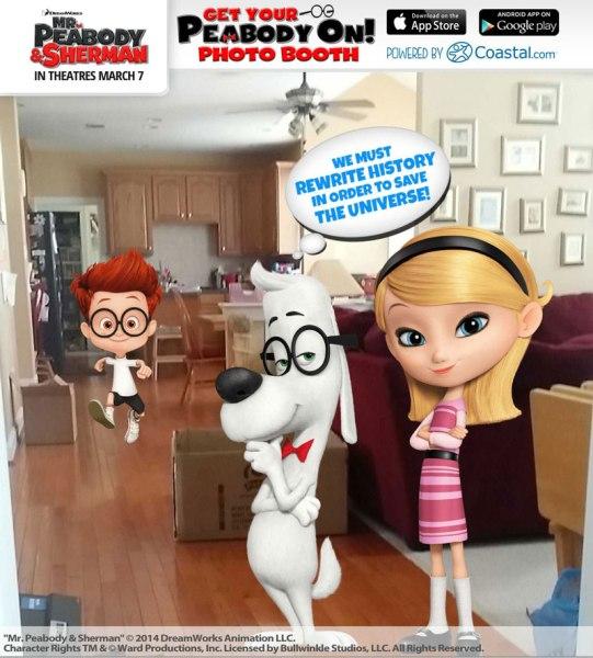 Mr. Peabody & Sherman app