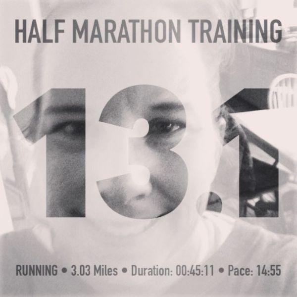 fitsnap half marathon