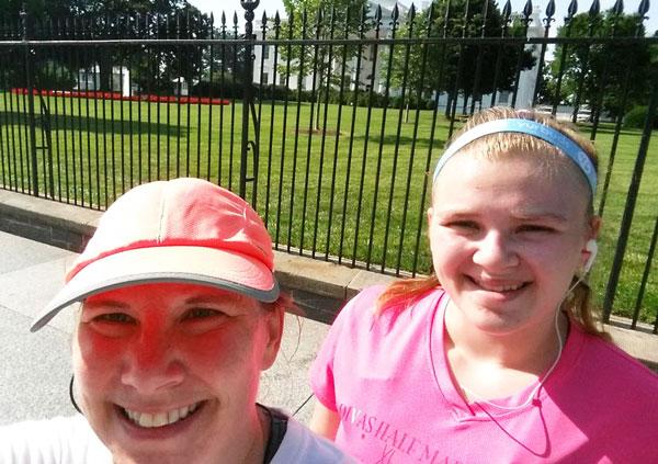 the white house selfie