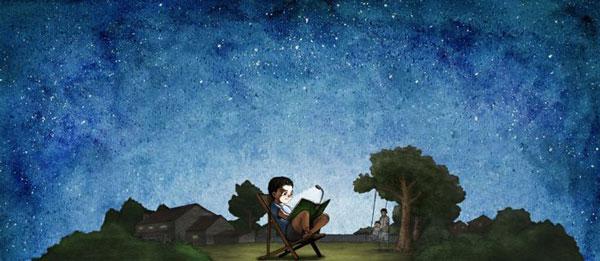 Scholastic Reading Under the Stars