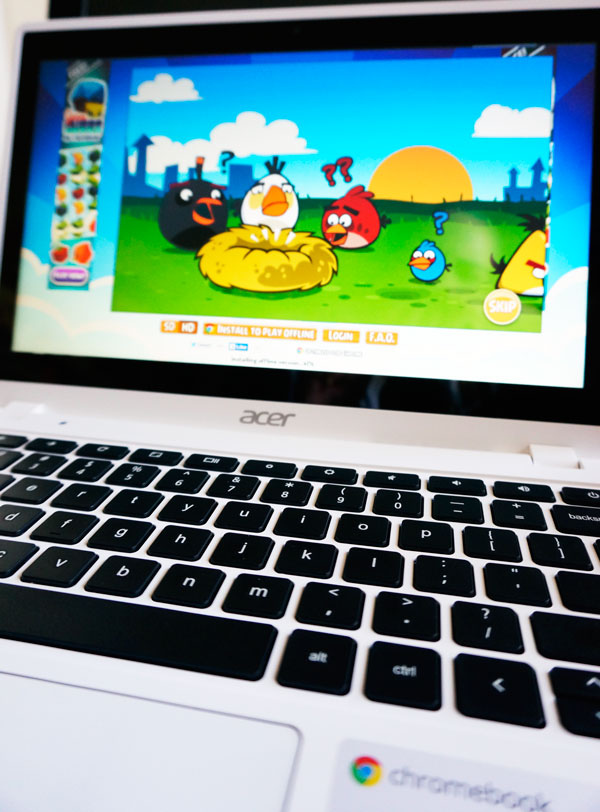 Chromebook Acer Games