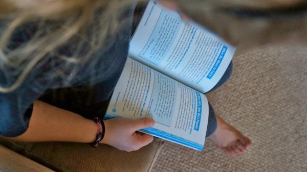 megan reading books