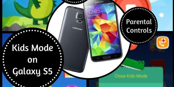 Kids Mode on Samsung Galaxy S5; Let Your Kids Play