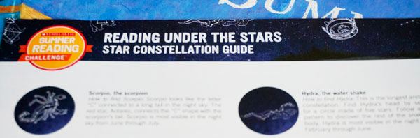 Reading Under the Stars Summer Reading challenge by Scholastic & EVERYREADY