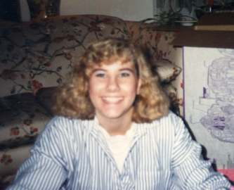 michele freshman year 1985 college