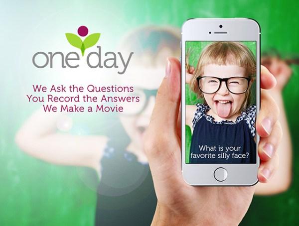 oneday app on iOS