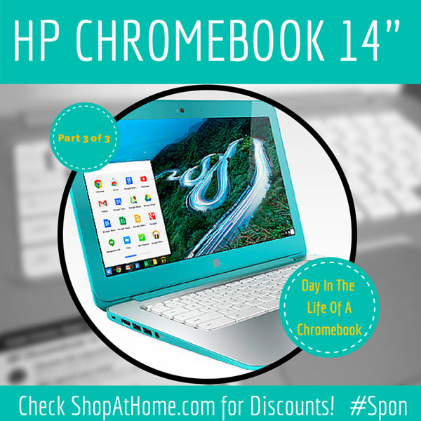 Day in the Life Of My HP Chromebook #HPChromebook