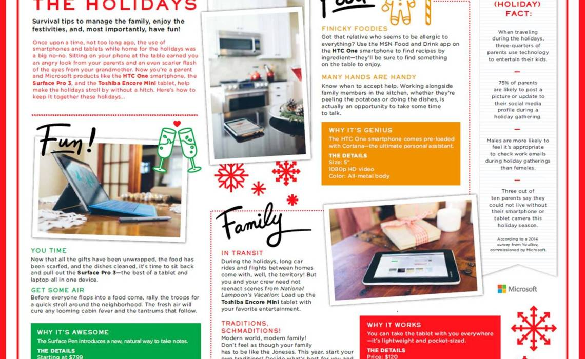 Microsoft Savings and tips for the holidays