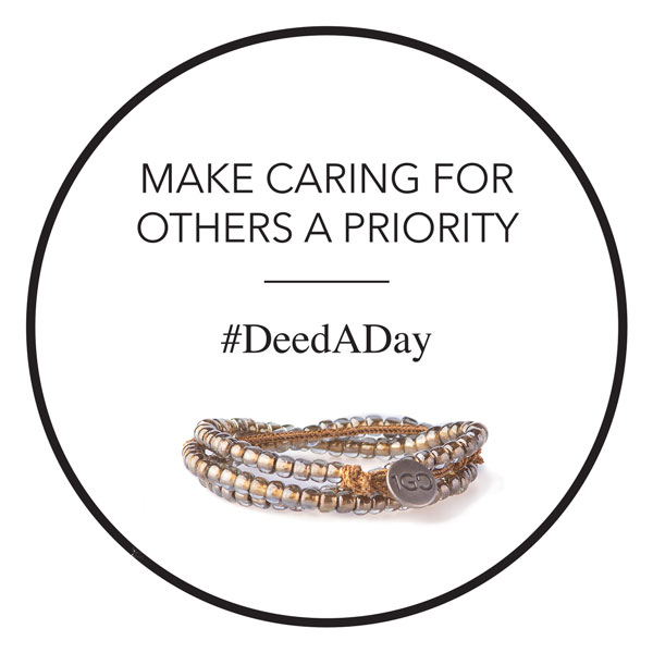 The holiday season is almost over, but I'm not done giving! I've joined the #DeedADay movement & you can too: http://bit.ly/100GDdeedADay