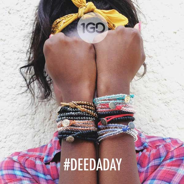 Here is what you've all been waiting for: Why I'm partnering w/ @the100gooddeedsbracelet & how to get more involved with the #DeedADay movement. http://bit.ly/JoinThe100GoodDeedMovement