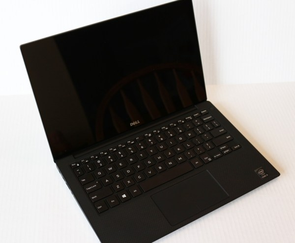 The Dell XPS 13 from @Dell with @Intel inside. Packs a punch with an infinity screen and up to 11 hours of battery life.
