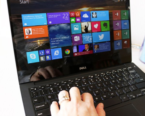 Dell XPS 13 with Windows 8 and full back-lit keyboard. #XPS