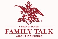 Anheuser-Busch Family Talk About Drinking Logo