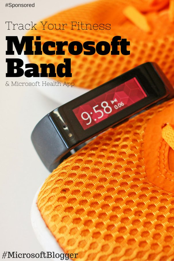 Track your fitness with the Microsoft Band and Microsoft Health app. I love all the charts and information I can see on the dashboard. #MicrosoftBlogger #Spon