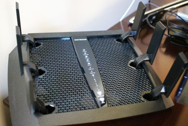 NETGEAR Nighthawk X6 WiFi Router (Model #R8000) in my house.