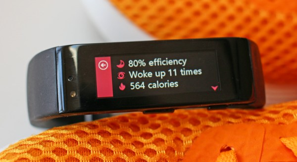 Microsoft Band and Microsoft Health sleep tracking #microsoftblogger