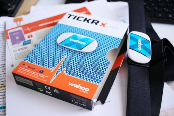 Wahoo Tickr X heart rate monitor chest strap #WahooTICKRX #Wahoo7minApp #Wahooligan