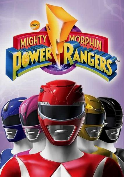 Power Rangers on Netflix #StreamTeam