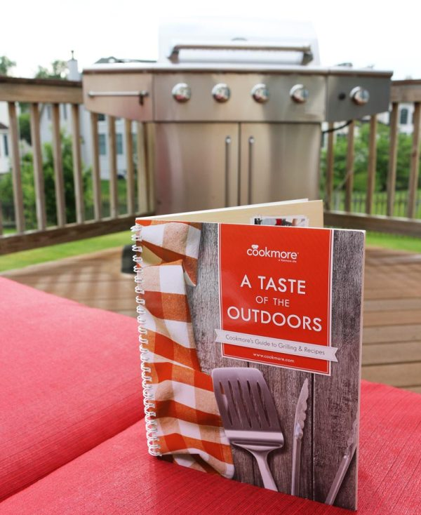 A Taste of the Outdoord grilling recipes cookbook #giveway #artofgrilling #ad