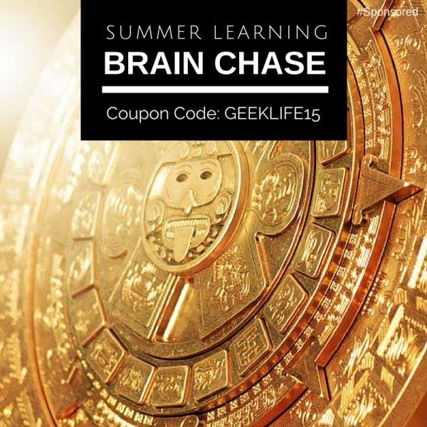 Online summer learning program, #BrainChase  #spon
