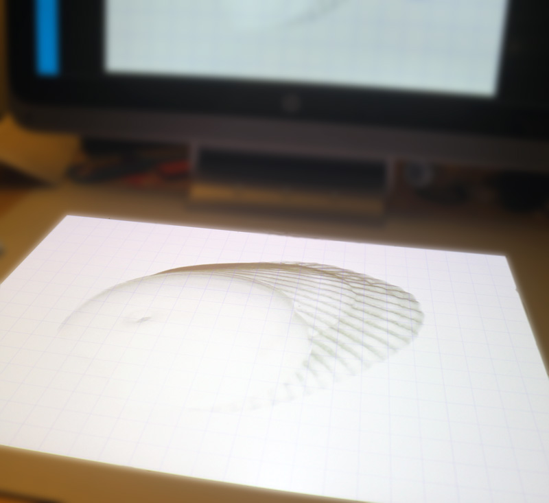 Tracing 3D designs on Sprout by HP #GoMakeThings #SproutByHP #Sponsored