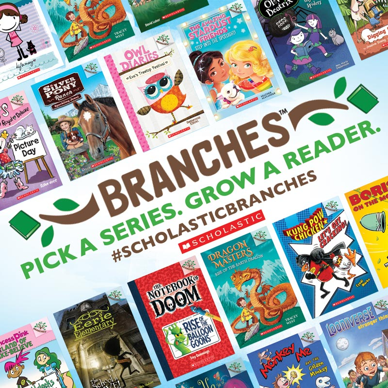 Branches books by Scholastic for kids ages 5 to 8 who are ready to move from the early reader books, but not ready for the traditional chapter books. Covers topics that kids that age will enjoy reading. #ScholasticBranches #Sponsored