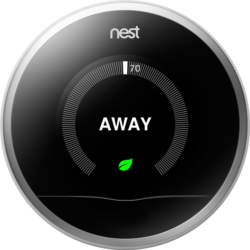 Nest in away mode for vacation. #BBYConnectedHome