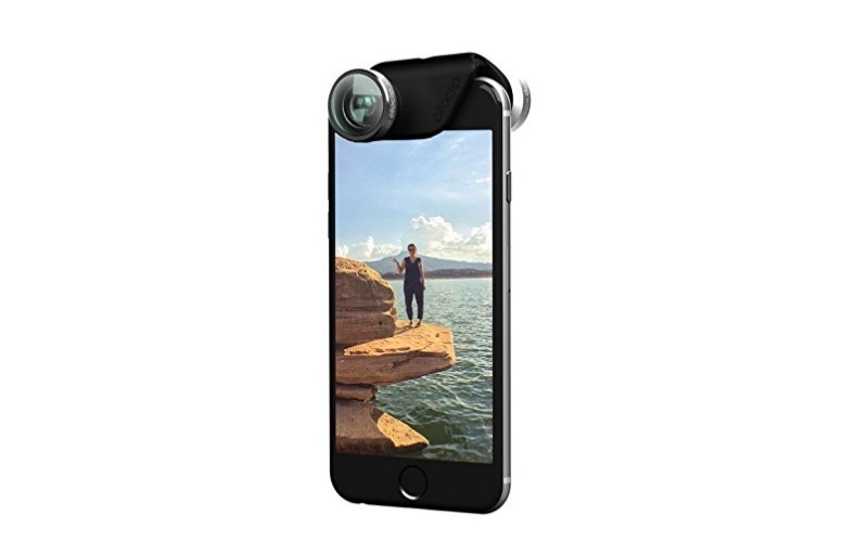 Olioclip 4-in-1 lens for iPhone; tech gift guide