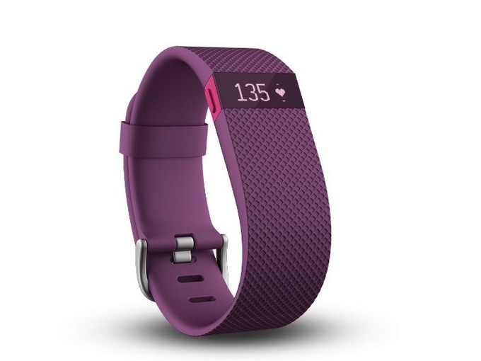 Fitbit Charge HR wireless activity wristband; tech gift guide