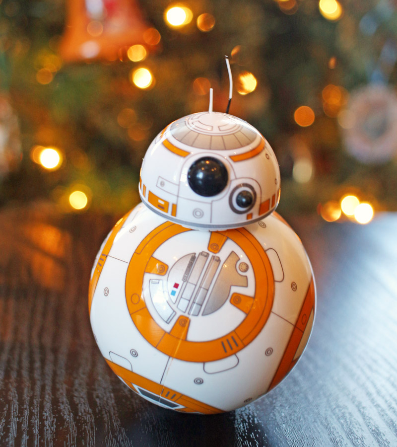 BB-8 & Darkside Sphero toys; Star Wars tech gift guide