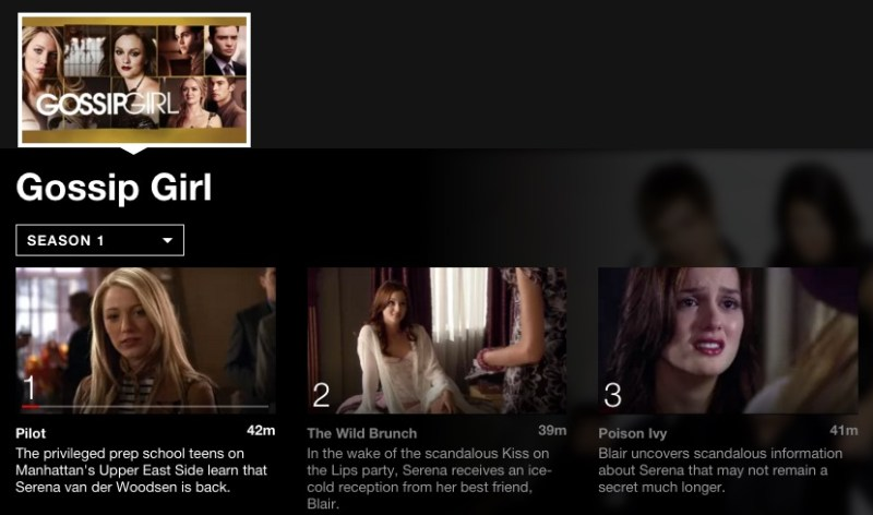 Gossip Girl: 5 Binge worthy shows on Netflix for Teen Girls #StreamTeam