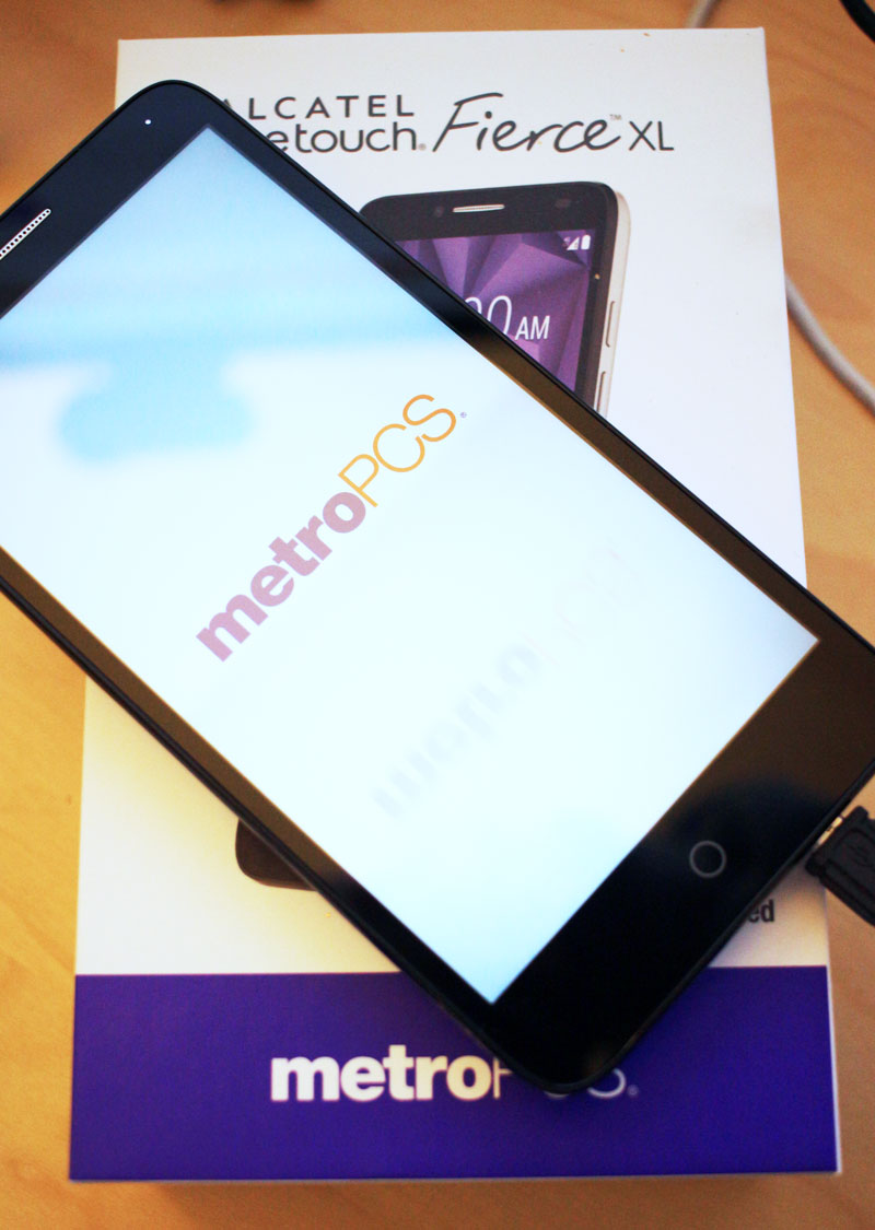 MetroPCS ALCATEL ONETOUCH Fierce XL smartphone #giveaway