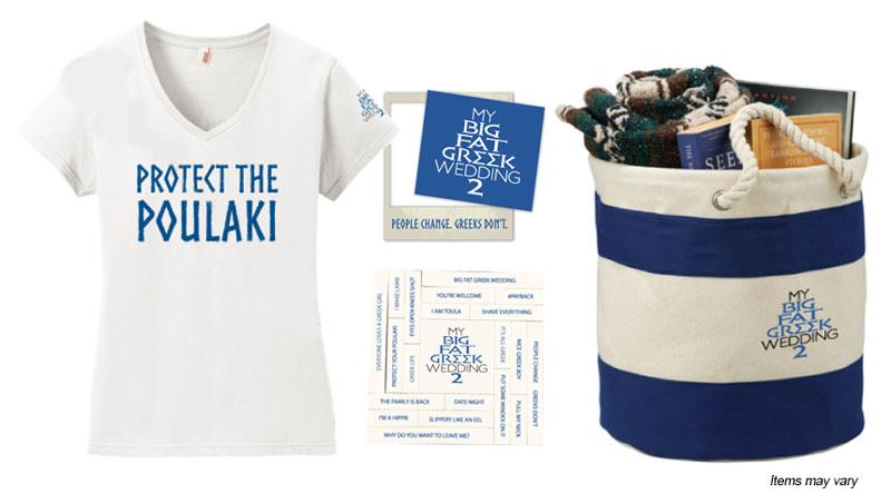 My Big Fat Greek Wedding 2 prize pack #giveaway #sponsored