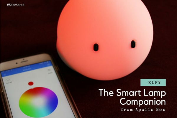 Elfy, The Smart Lamp Sets The Mood and Lights The Way | Scraps of ...