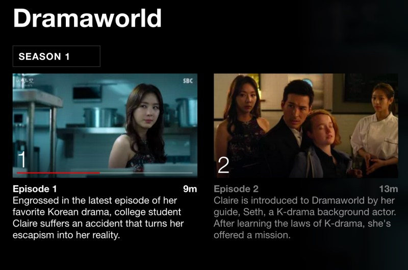 Dramaworld on Netflix