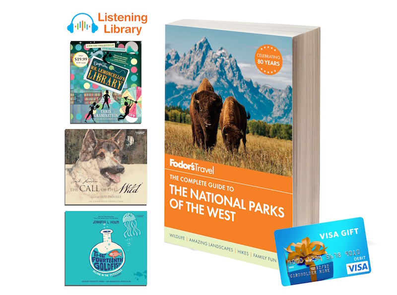 Fodors The Nationals Parks of the West Travel Guide, 3 audiobooks, $50 GC #Giveaway