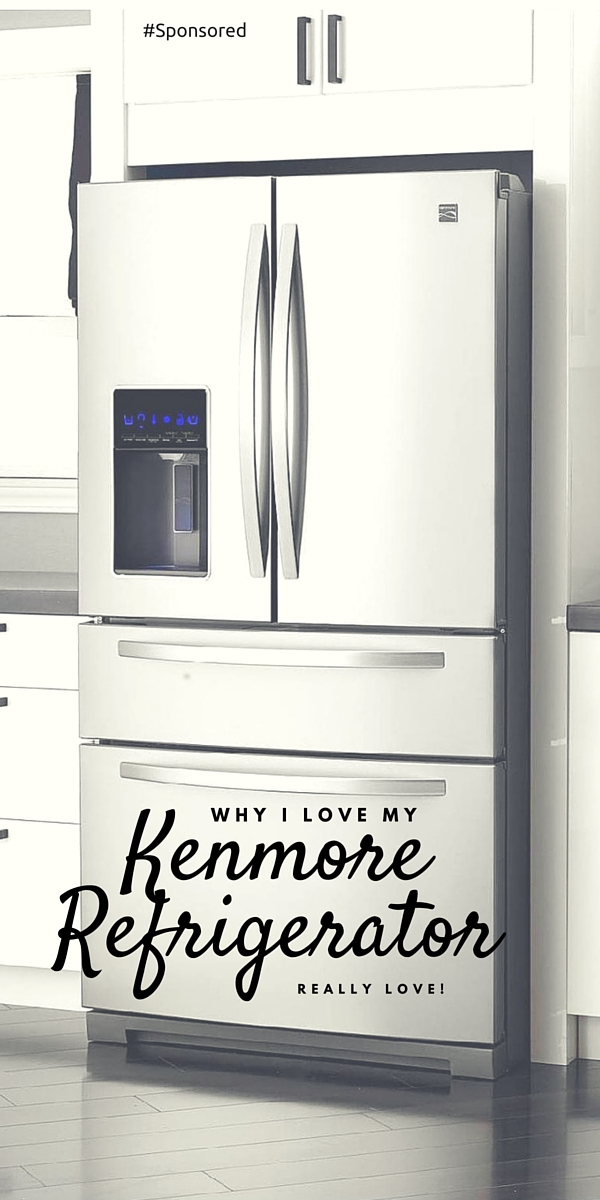 Kenmore Stainless Steel French Door Refrigerator from Sears; Find out what features sold me on this refrigerator. It has a different design (but in a positive way)