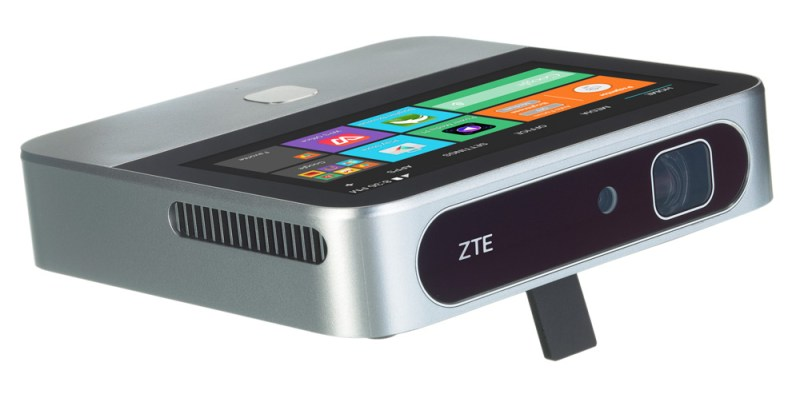 ZTE mobile projector at Best Buy. Android Projector.