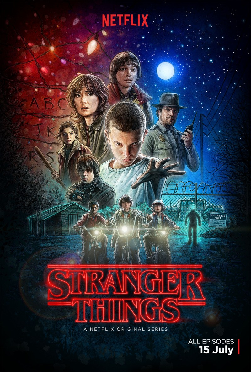 Stranger Things on Netflix. #streamteam