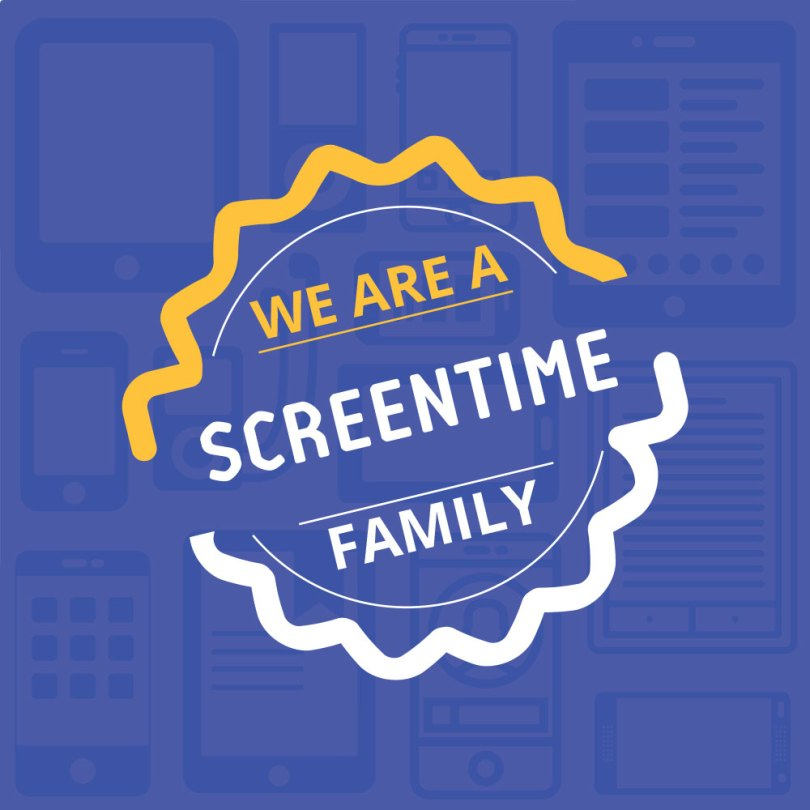 We are a Screentime family #screentimeapp