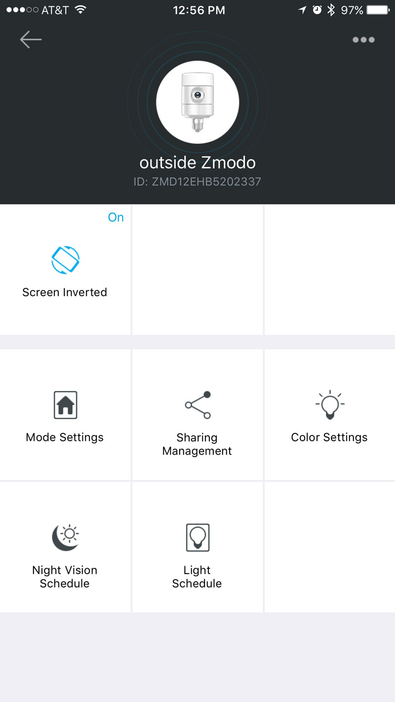 zmodo-iphone-app