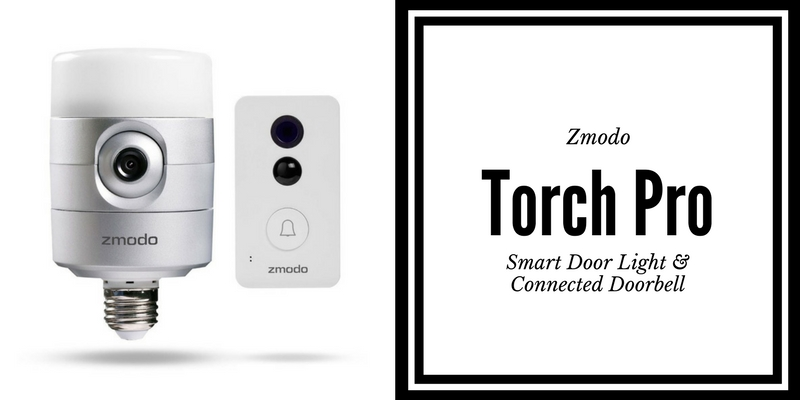 Zmodo Torch Pro includes smart door light and connected doorbell. #CES2017