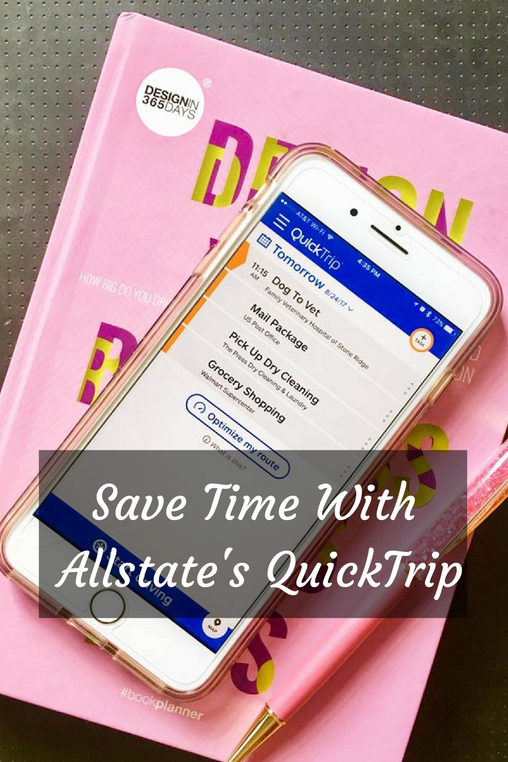 Allstate QuickTrip will help you get everything done in the most efficient way. Stop wasting time driving all over time. Let QuickTrip optimize your tasks and appointments.