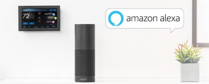 Aprilaire WiFi Thermostat Works with Amazon Alexa.