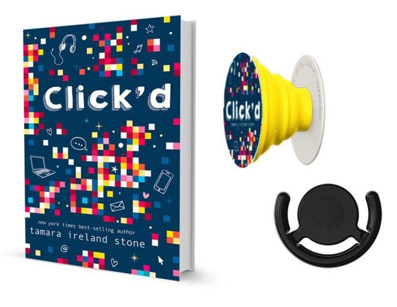 Click'd Book and Popsocket Giveaway