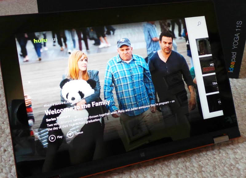 Streaming TV and movies