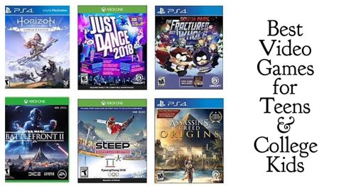 Best Video Games for Teens and College Kids 2017 #GiftGuide #TechGifts