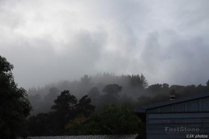 front door low clouds